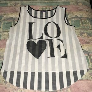 Tops - Love high and low shirt